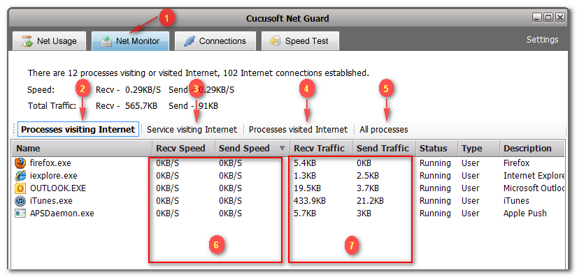 احمي خصوصيتك اثناء التصفح مع العملاق Cucusoft Net Guard 2.2.1.3 ( تحميل مباشر)