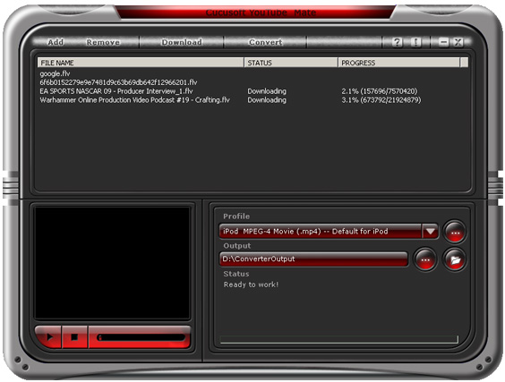 Cucusoft YouTube Mate(Downloader+Player+Converter) screenshots