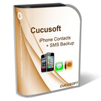 iPhone Contacts + SMS Backup Box