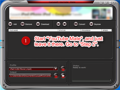 free youtube converter screenshot 1