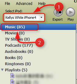 how to put music on ipod from computer