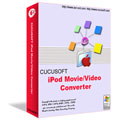 Convert ipod video with the Cucusoft iPod Movie/Video Converter
