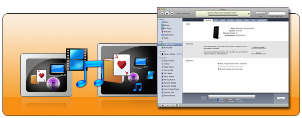 iTunes to iTunes Transfer - Cucusoft iTunes Transfer, free download
